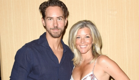 Wes Ramsey and Laura Wright at Gh Fanclub event