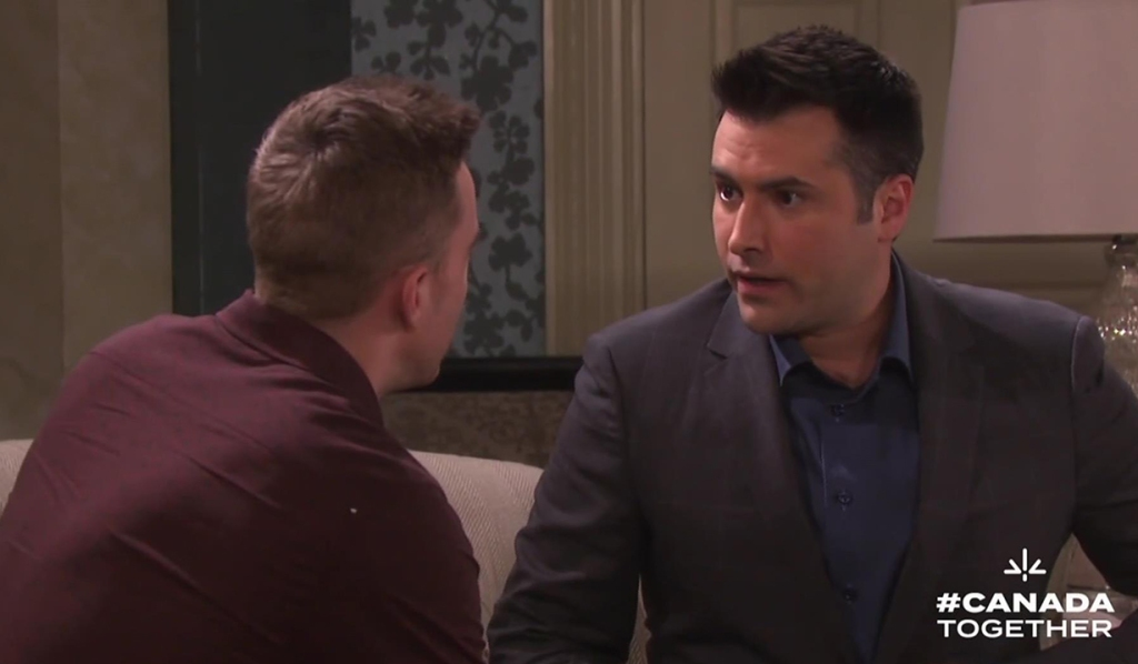 will tells sonny claire cleared days
