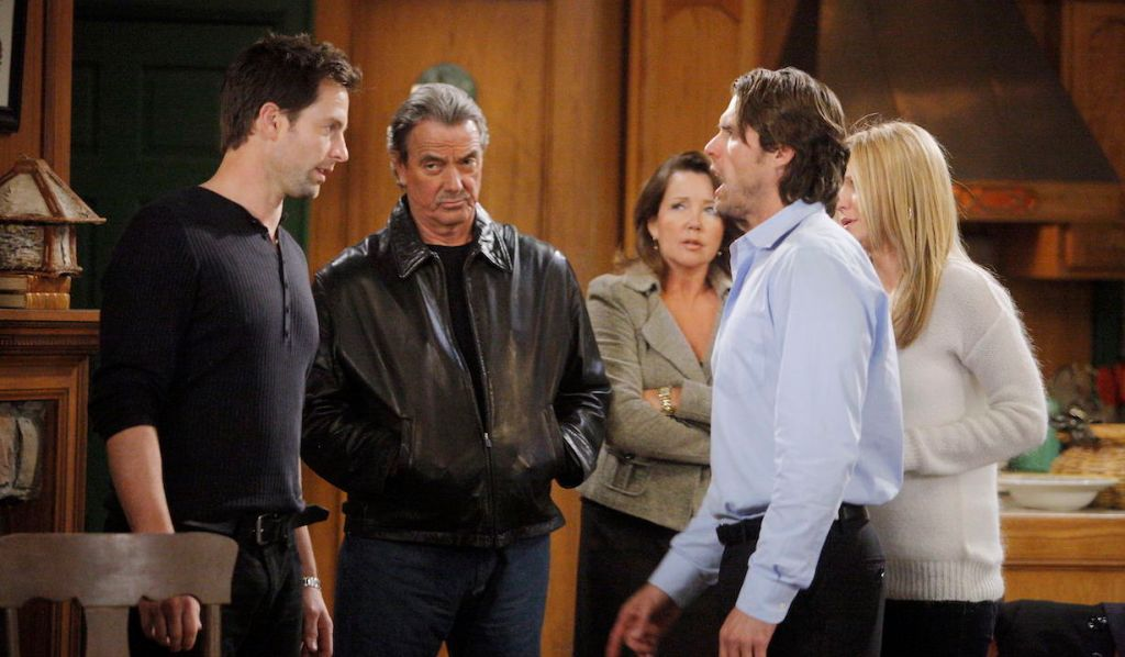 Adam Newman faces his accusers on Young and Restless