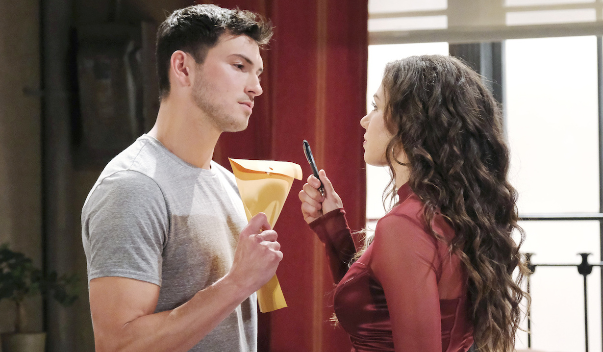 Ben refuses to sign Ciara's divorce papers on Days of Our Lives