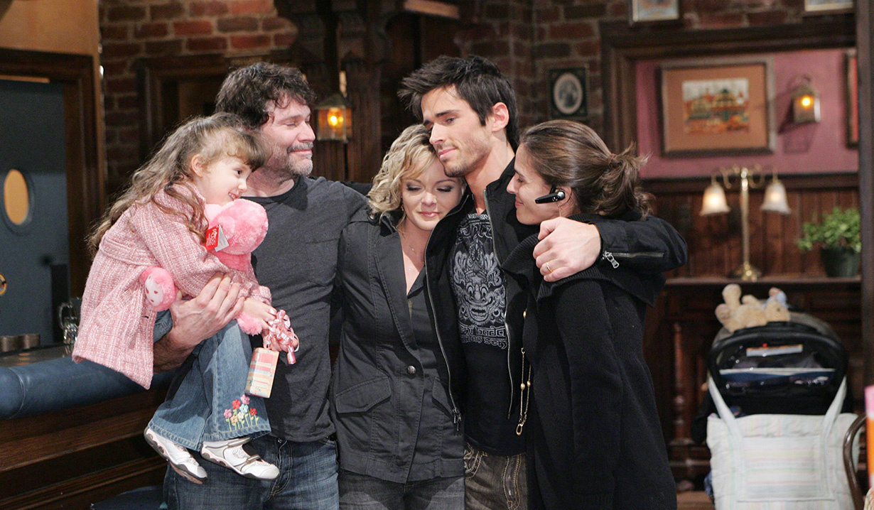 Brandon Beemer, Martha Madison, Peter Reckell, Alina Foley, Kristian Alfonso Days