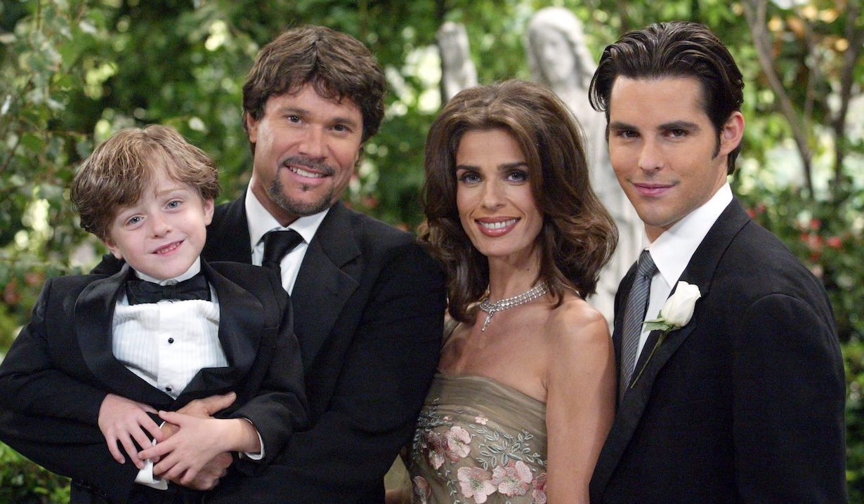 Bo, Hope, Zack and Shawn on Days of our Lives