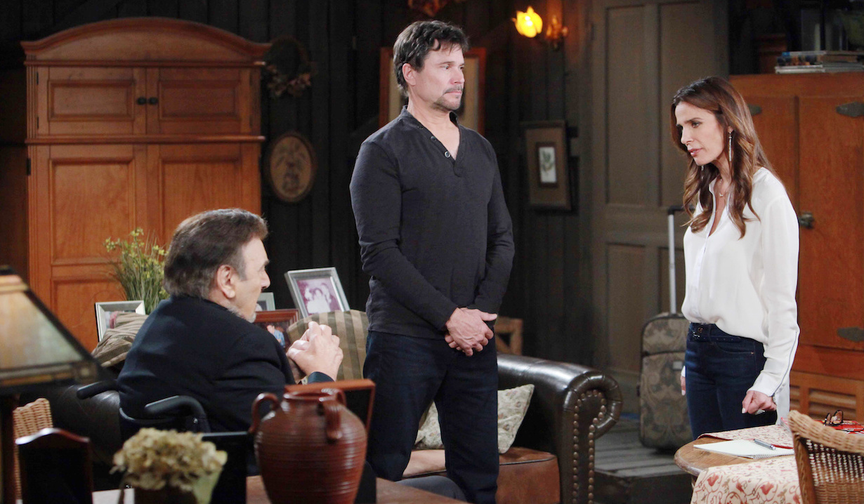 Bo, Hope, Stefano on Days of our Lives