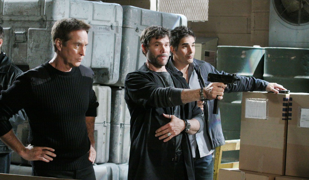 John, Bo and Rafe on Days