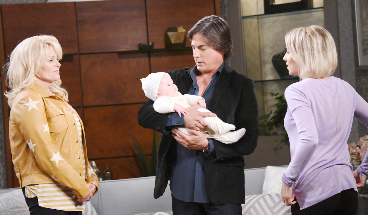 Bonnie's baby scheme on Days of our Lives