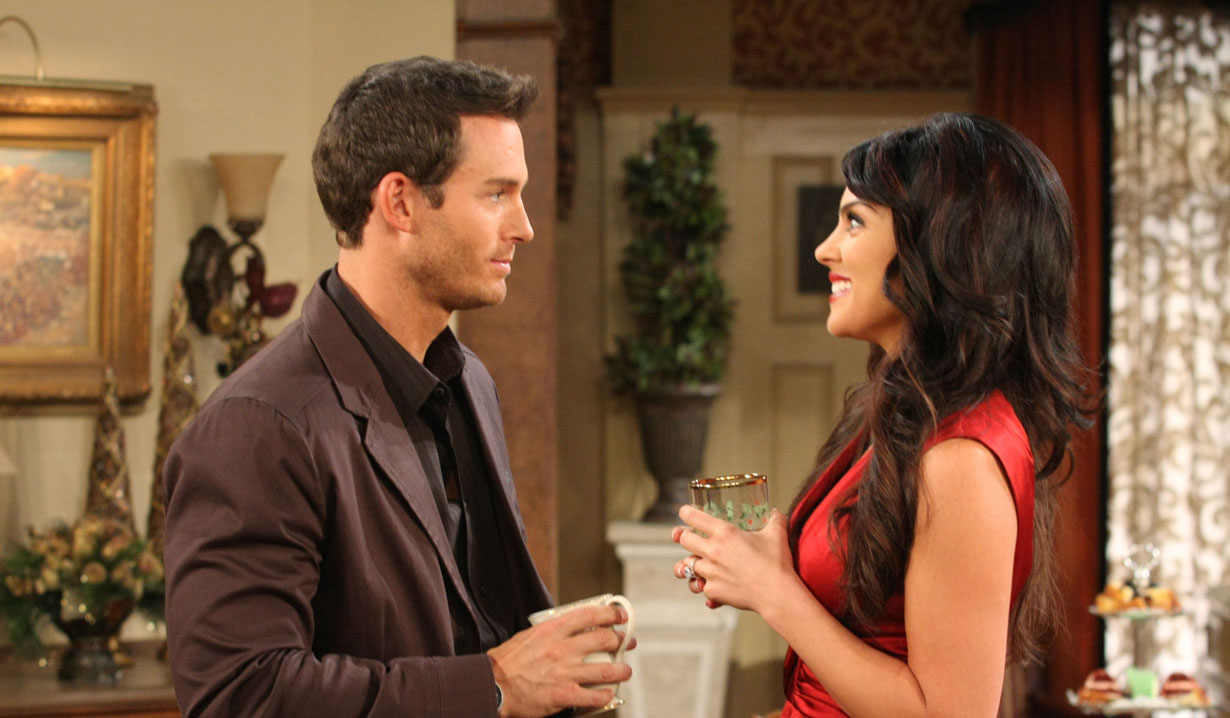 Brady Black and Chloe Lane on Days of our Lives