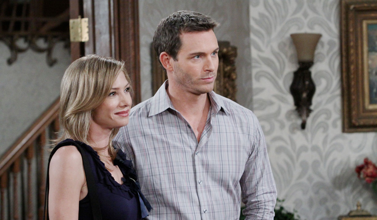 Brady and Madison James on Days of our Lives