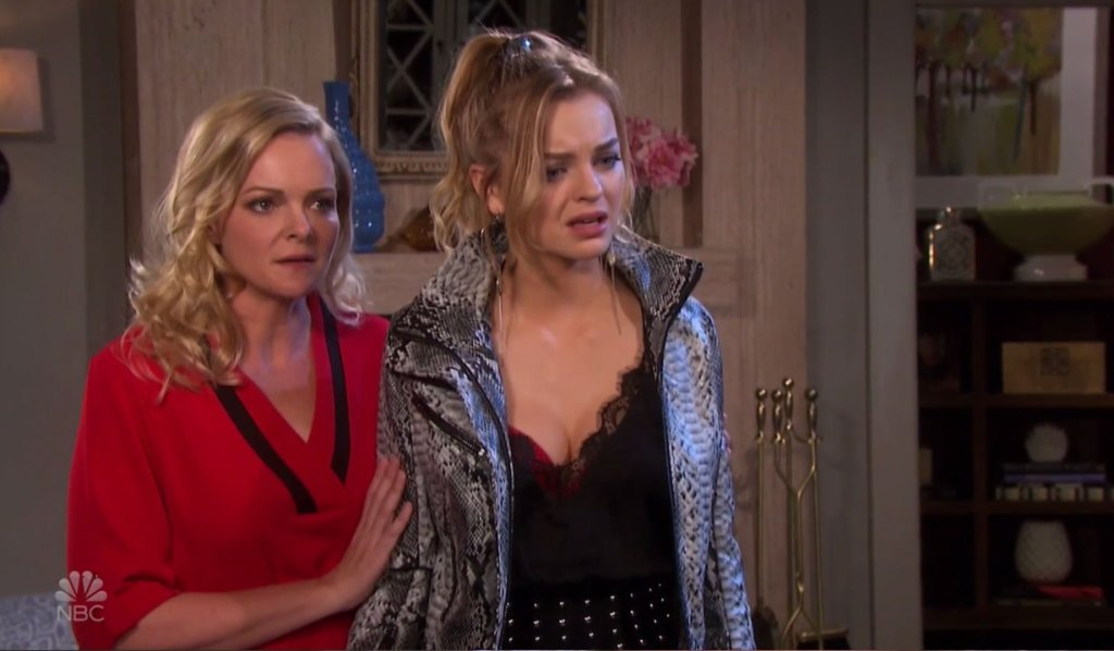 Claire is stunned by Ciara's accusation on Days