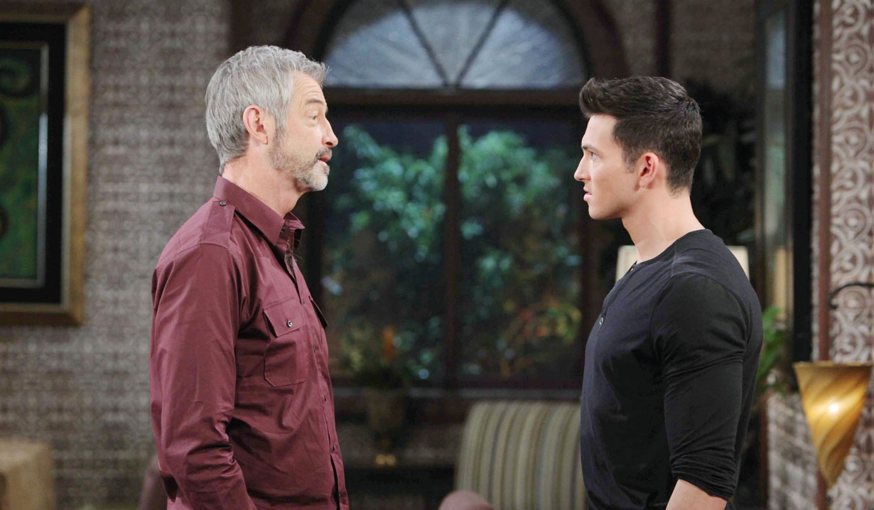Clyde Weston of Days of our Lives with son Ben Weston