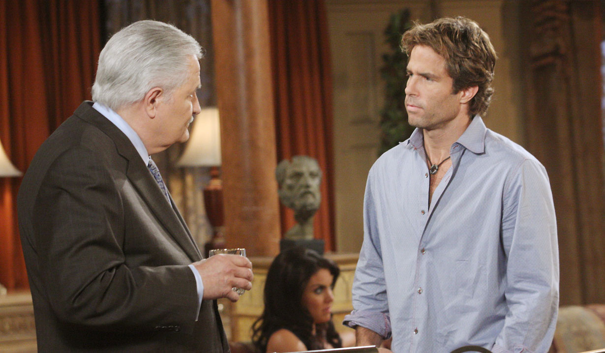 Victor and his godson Daniel Jonas on Days of our Lives