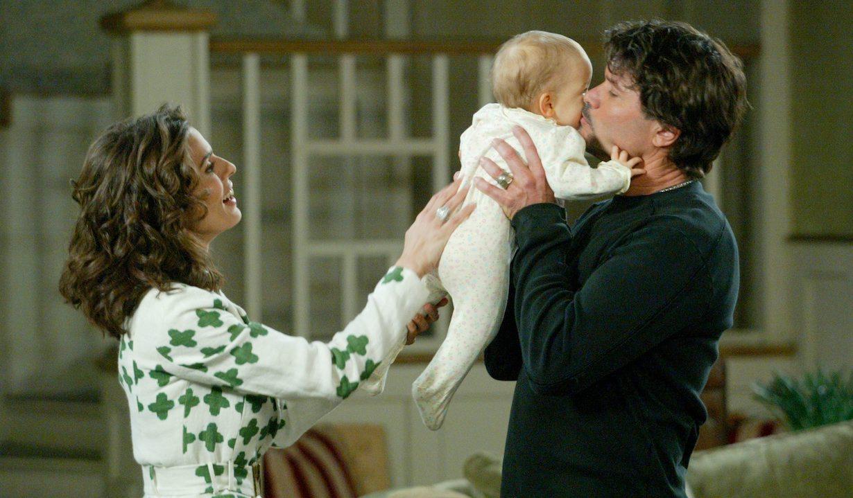 Peter Reckell, Kristian Alfonso, Danica Hobbs days baby ciara paul skipper