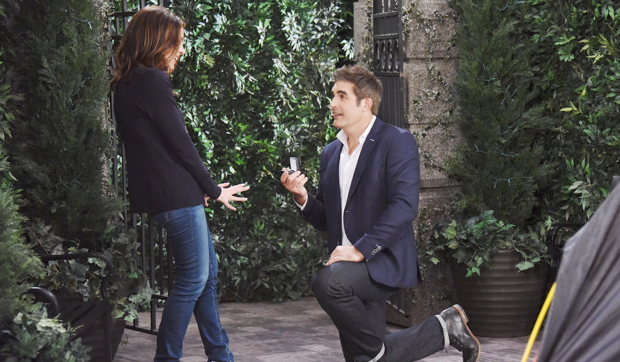days of our lives hope williams brady timeline rafe proposes
