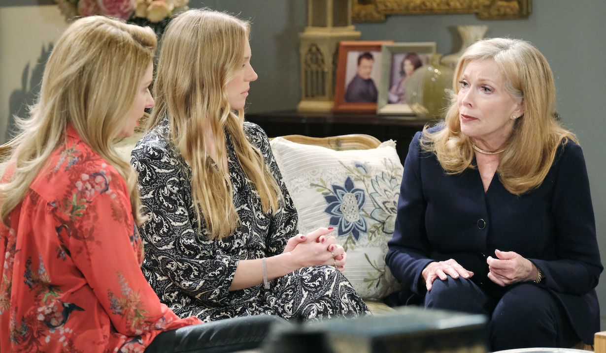 "Jaime Lyn Bauer, Cady McClain, Marci Miller ""Days of our Lives"" Set NBC Studios Burbank 11/02/20 © XJJohnson/jpistudios.com 310-657-9661 Episode # 14032 U.S.Airdate 02/012/21"