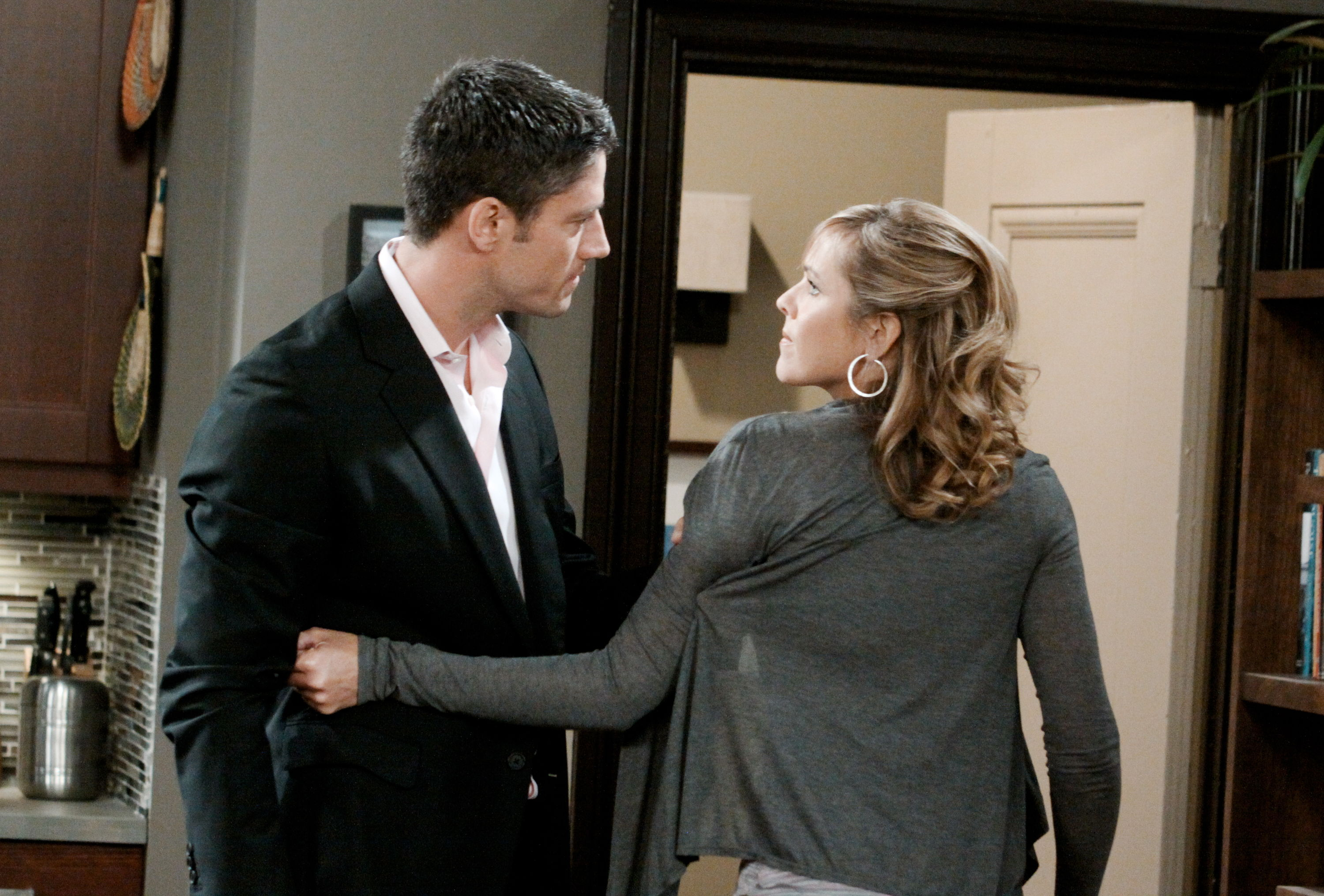 E.J. and Nicole on Days of Our Lives