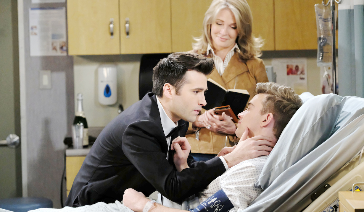 soap opera doomed couples weddings funerals will sonny