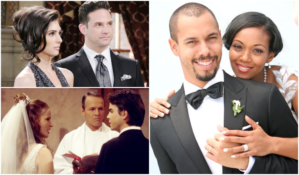 soap opera weddings funerals doomed couples