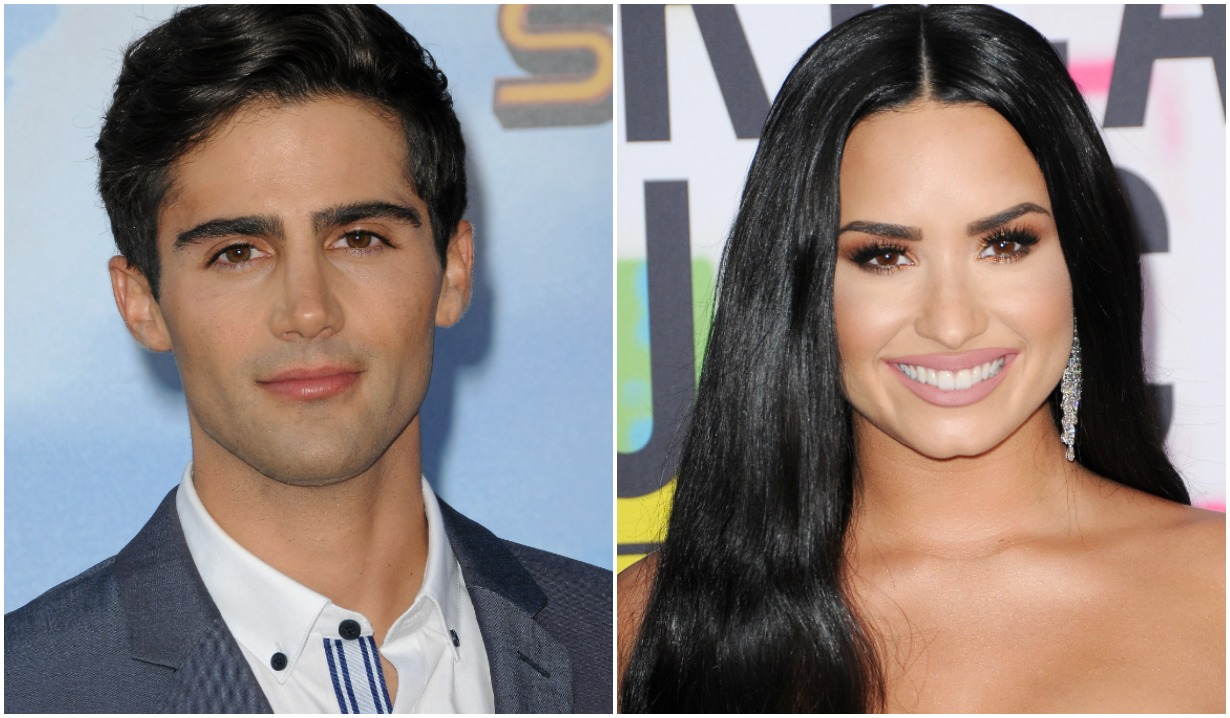 demi lovato max ehrich engaged young restless