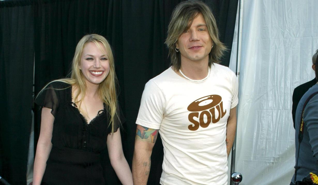 Adrienne Frantz and Johnny Rzeznik jj