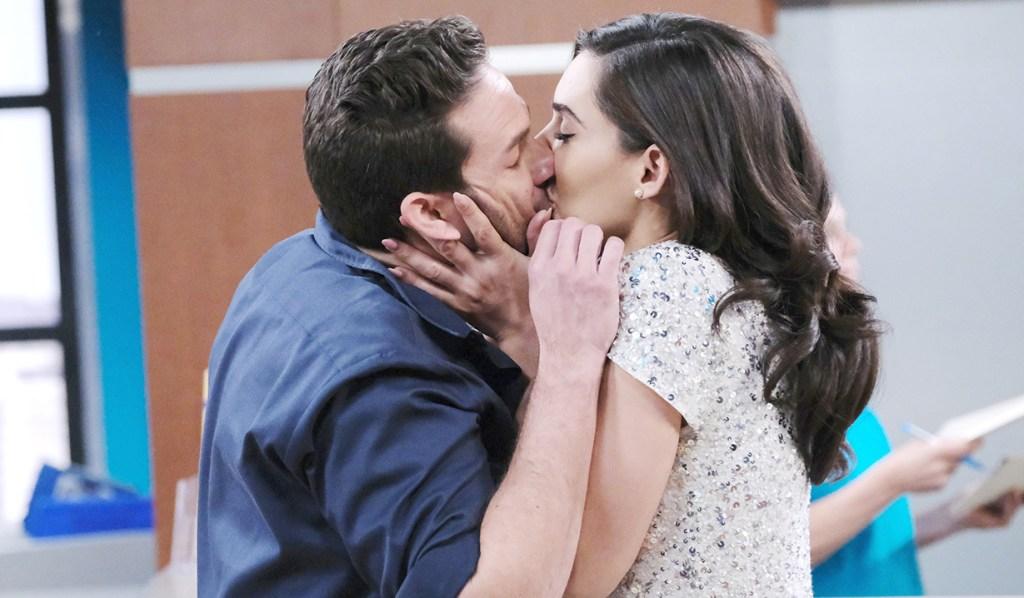 gabi kisses stefan after dna test days