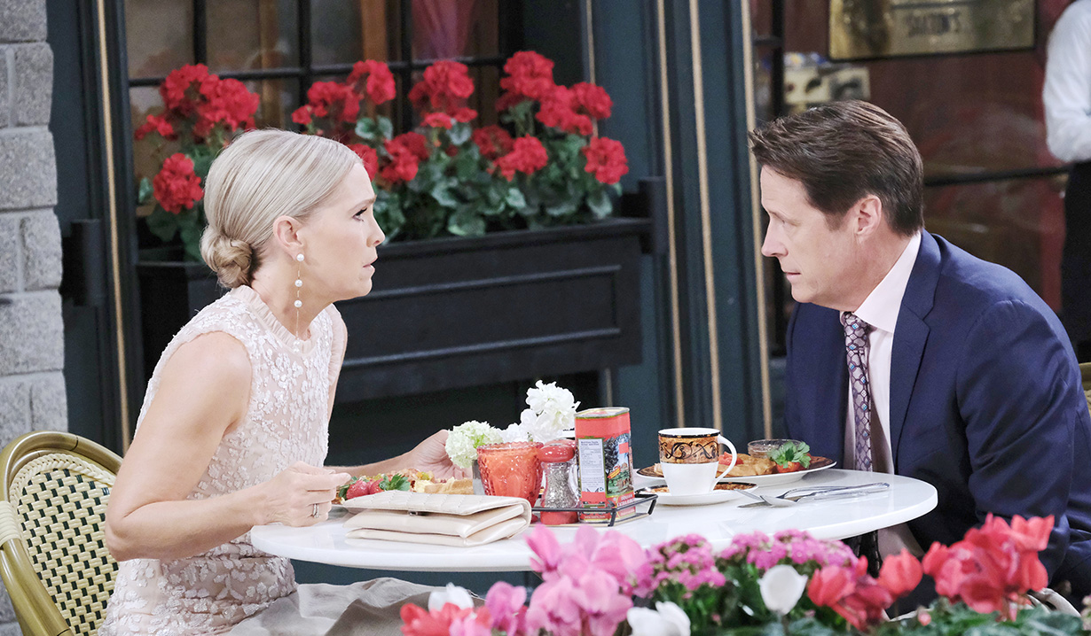 "Melissa Reeves, Matthew Ashford ""Days of our Lives"""