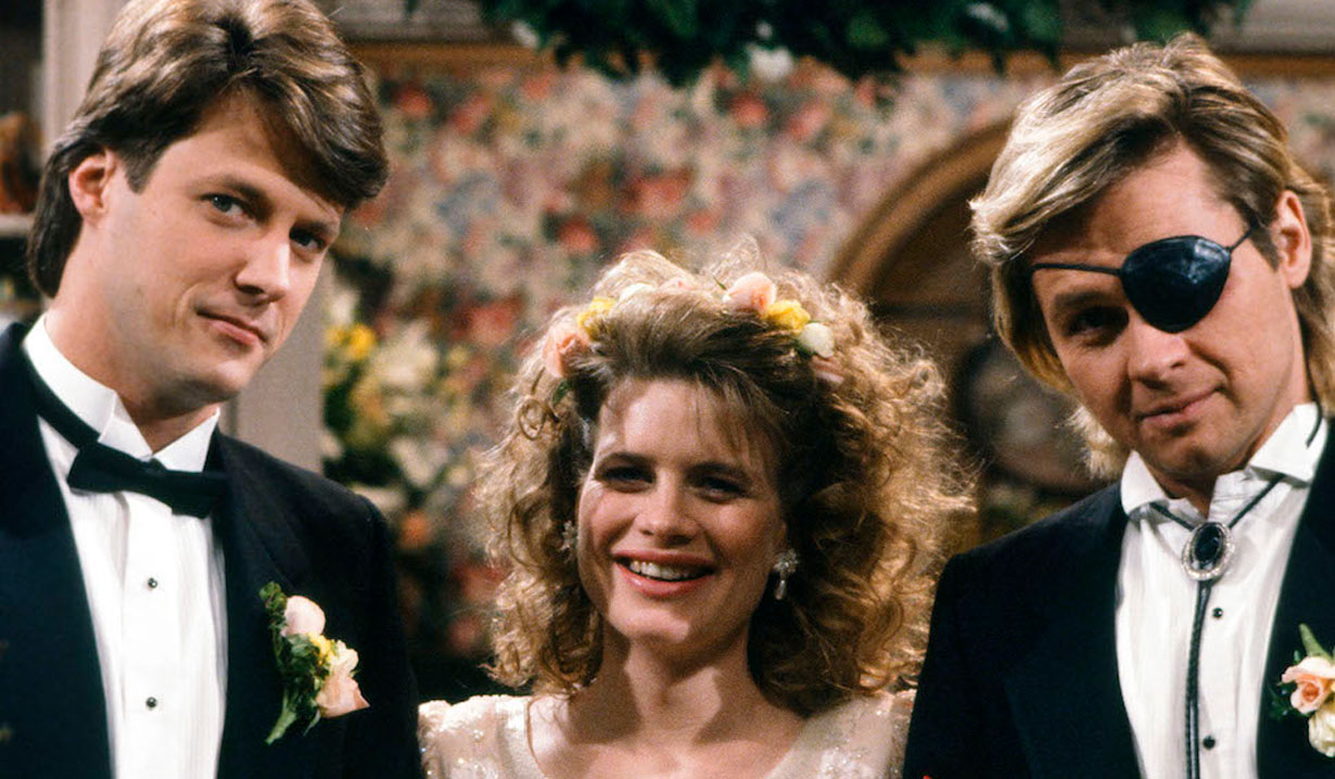Jack, Kayla and Steve on Days of our Lives