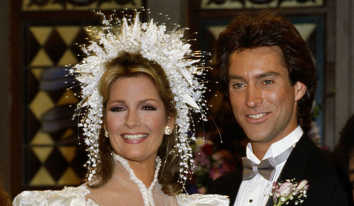 John and Marlena's first wedding