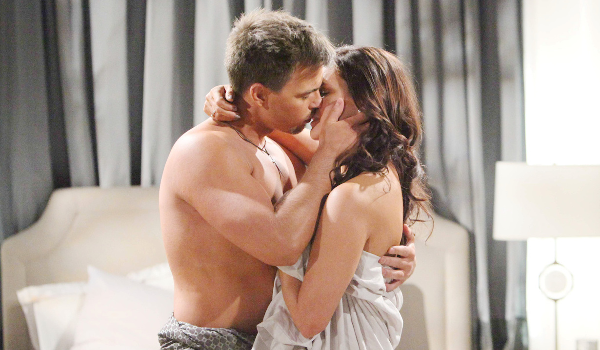 Katie Logan & Wyatt Spencer on The Bold and the Beautiful