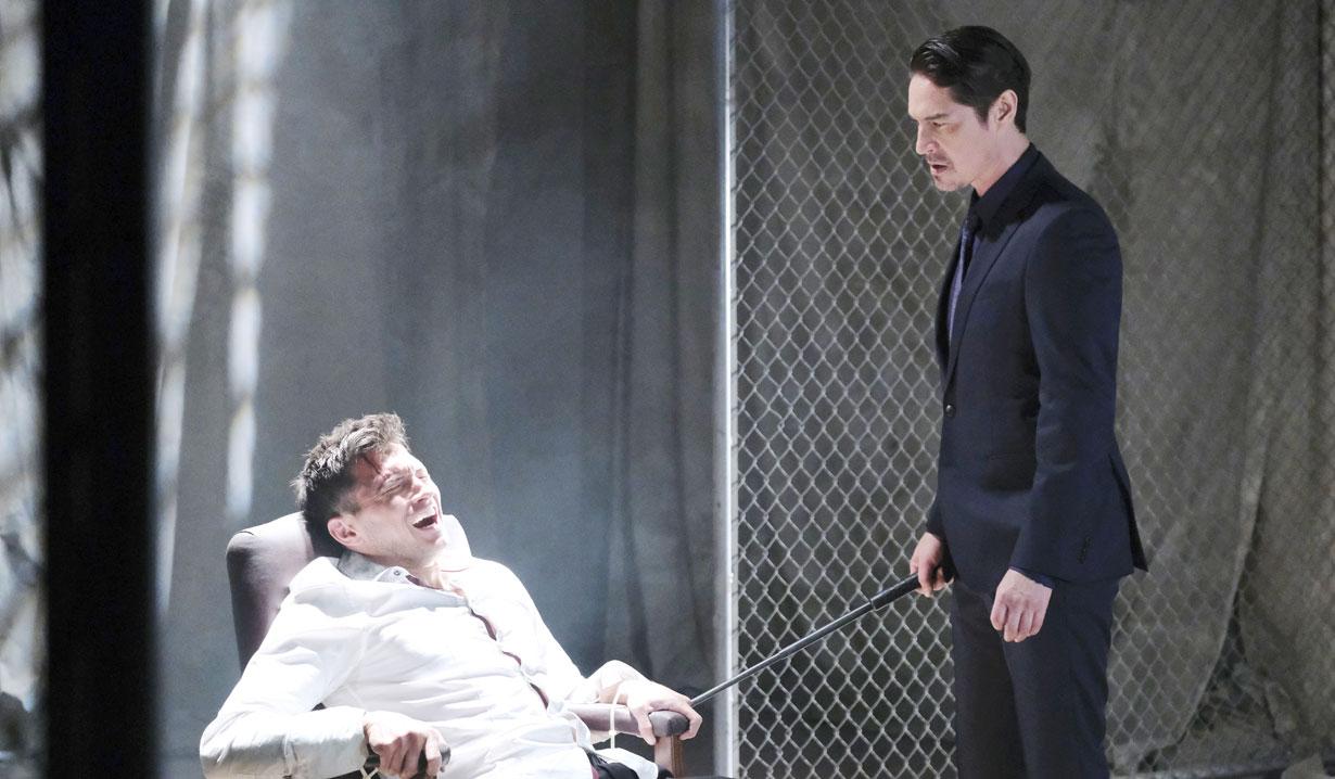 A man tortures Ben on Days