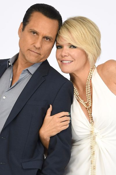 Maura West as Ava Jerome and Maurice Benard as Sonny Corinthos General Hospital