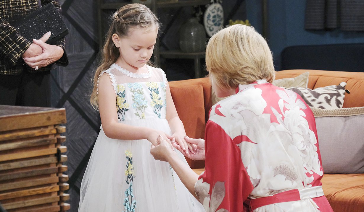 Nicole walker with holly walker flower girl Dool