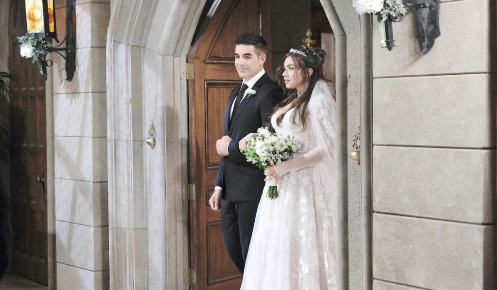 "Victoria Konefal, Galen Gering""Days of our Lives"" Set Wedding NBC Studios Burbank 11/13/19 © XJJohnson/jpistudios.com 310-657-9661 Episode # 13900 U.S.Airdate 07/22/20"