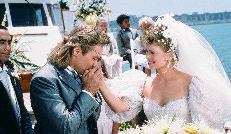 Steve and Kayla's first wedding on a yacht on Days
