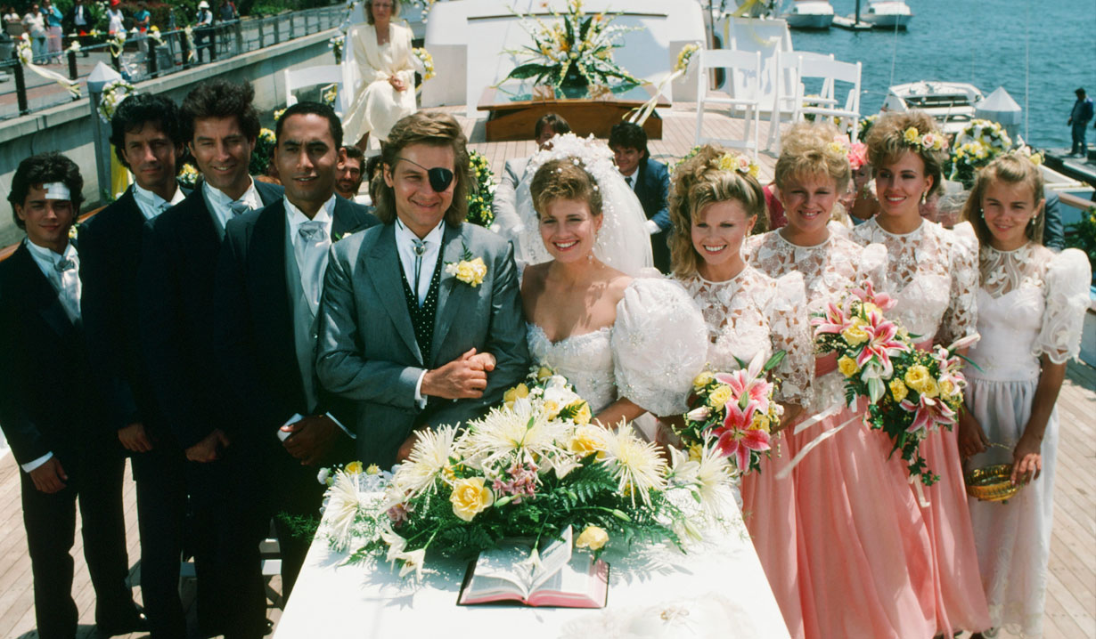 Steve and Kayla's Yacht wedding on Days of our Lives