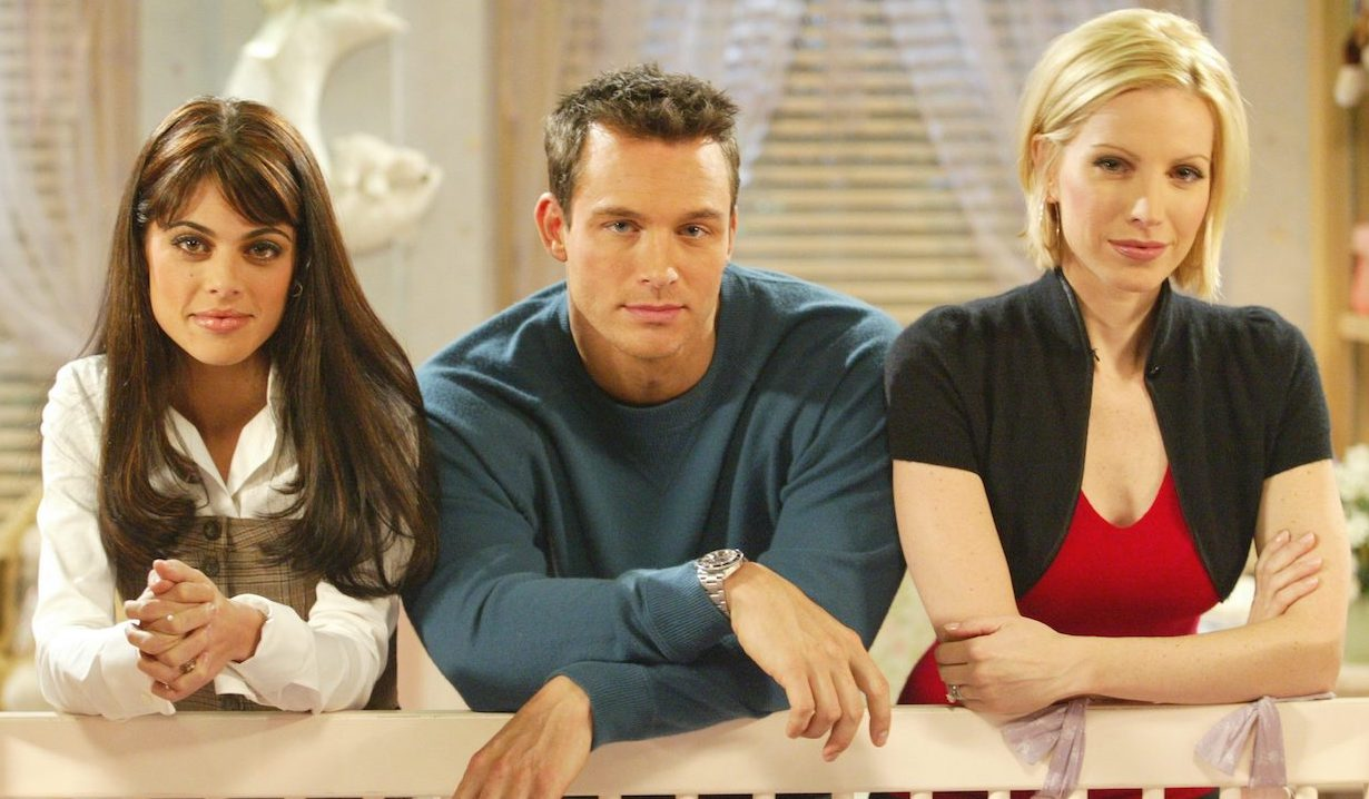 Theresa Lopez-Fitzgerald, Ethan Winthrop, Gwen Hotchkiss love triangle on Passions