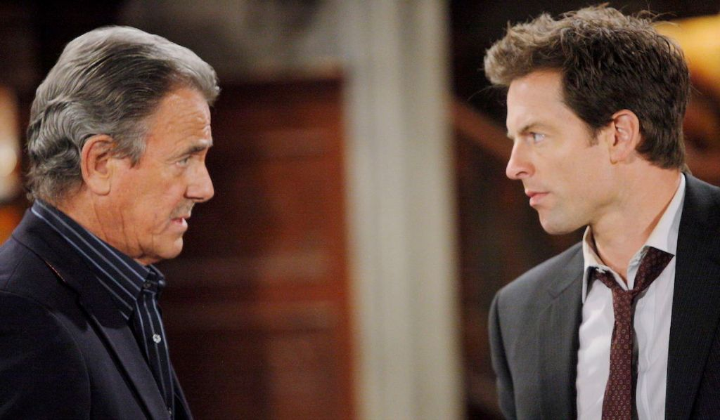 Victor Newman accepts Adam Newman on Young and Restless
