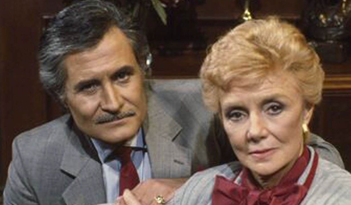 Victor and Caroline Brady from Days of our Lives