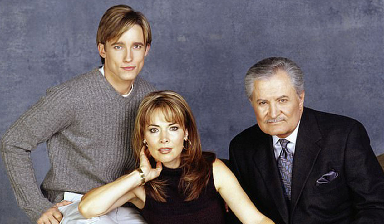 Philip Kiriakis and parents on Days of our Lives
