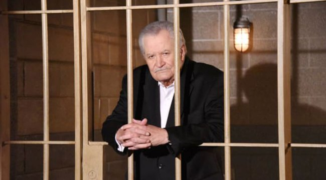 Victor in jail on Days of our Lives