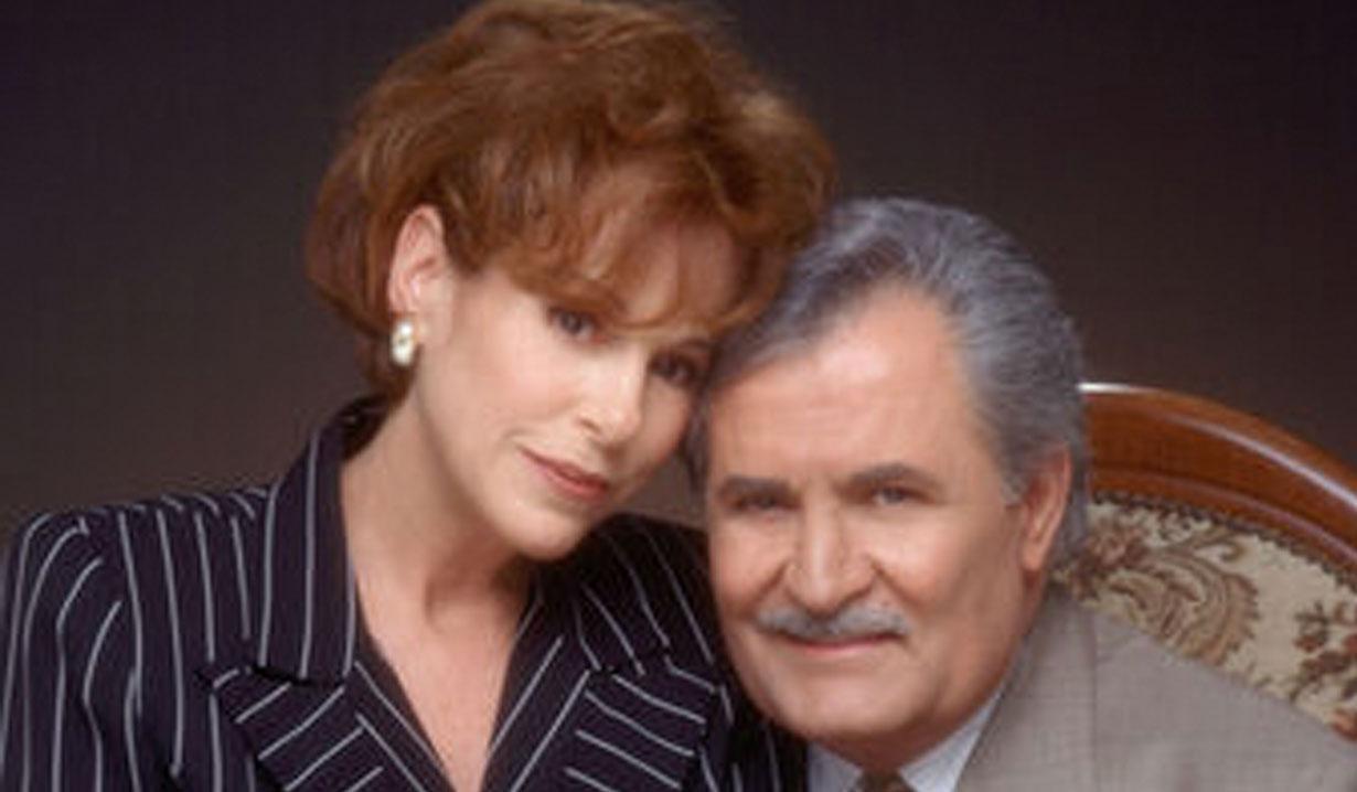 Vivian Alamain and Victor Kiriakis on Days