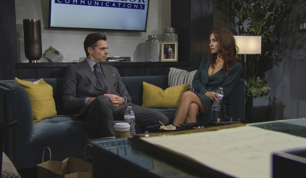 Billy, Lily interview Y&R