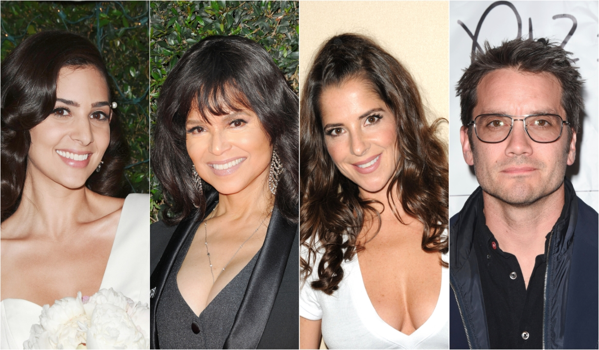 Camila Banus Kelly Monaco Dominic Zamprogna Victoria Rowell Days of our Lives General Hospital Bold and the Beautiful Young and the Restless