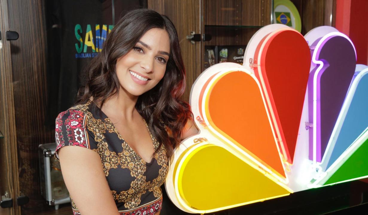 Camila Banus NBC logo