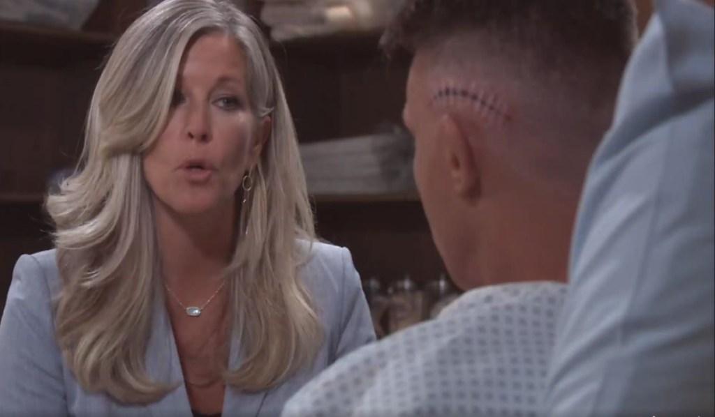 Carly tells Jason she'll need his help at General Hospital