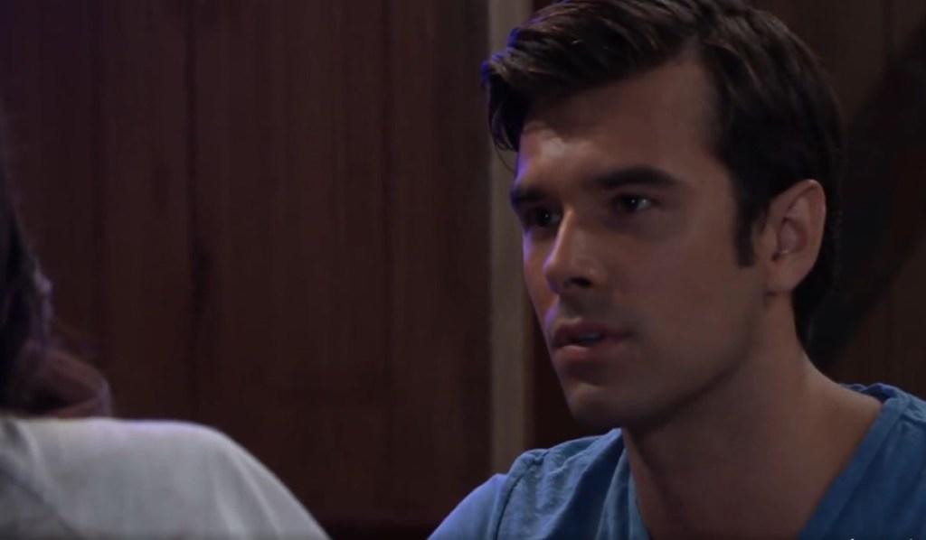 Chase gives advice to Brook Lynn at Floating Rib General Hospital