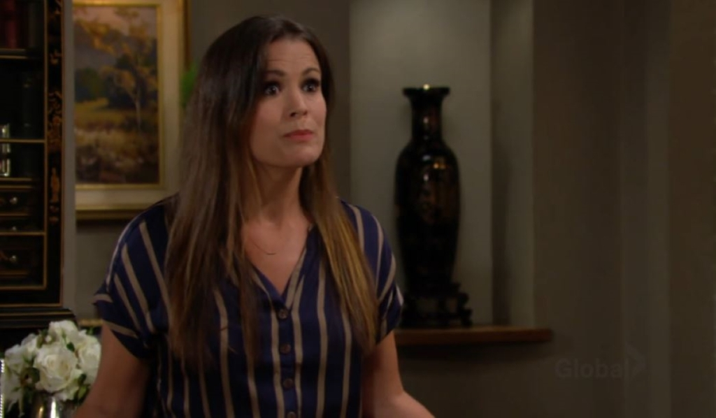 Chelsea confronts Victor about Adam at ranch Young and Restless