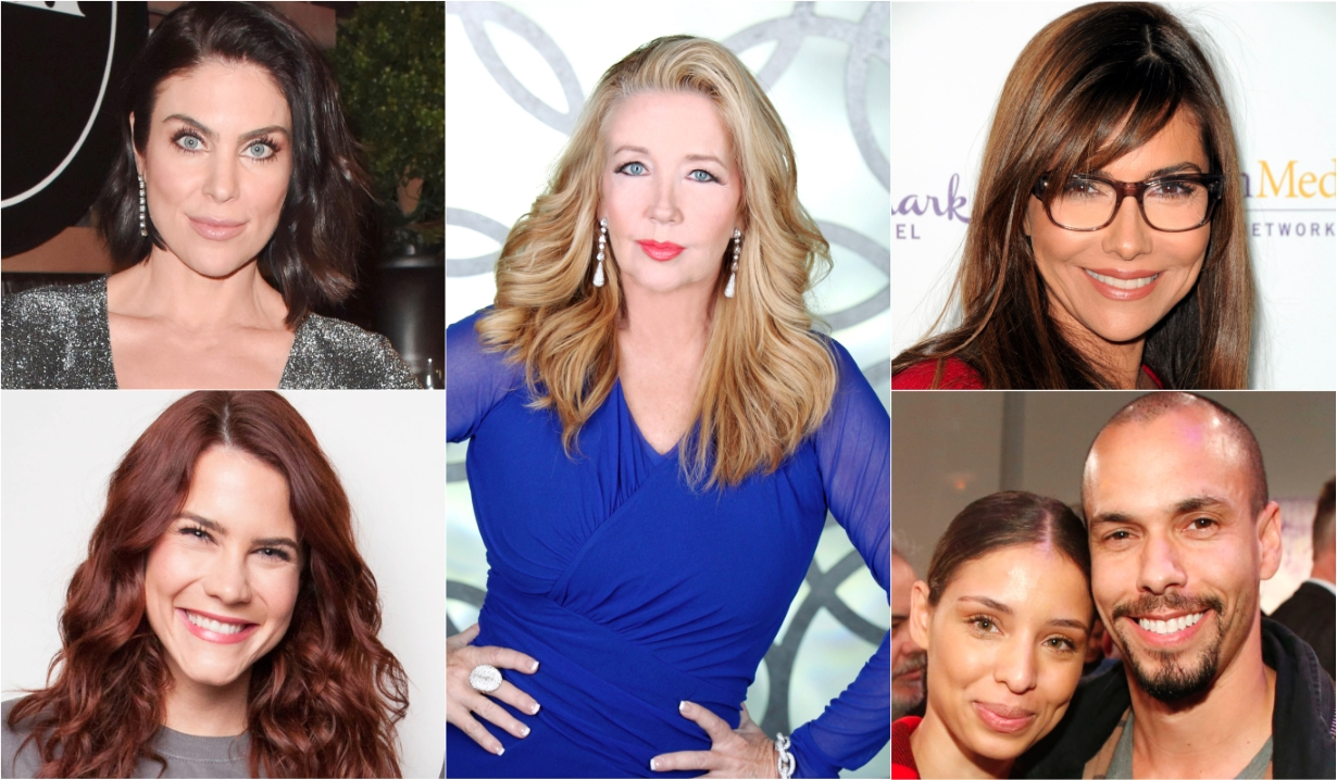 Courtney Hope Nadia Bjorlin Vanessa Marcil Bryton James Brytni Sarpy Melody Thomas Scott Days of our Lives General Hospital Bold and the Beautiful Young and the Restless