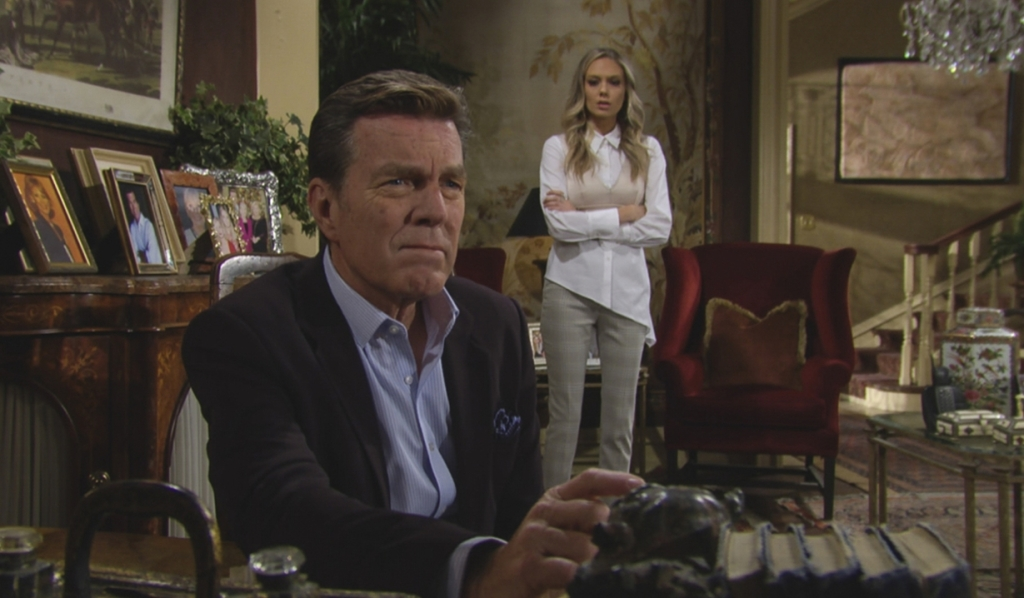 Jack pensive Abby Y&R