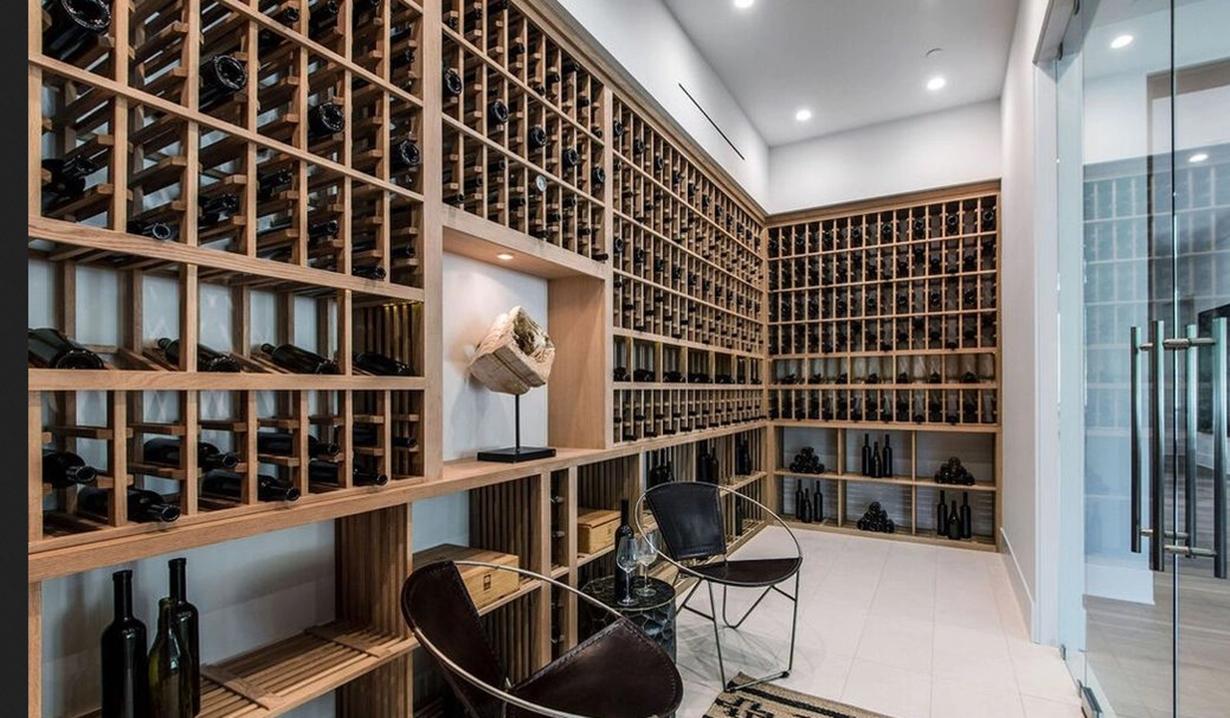 Lori Loughlin wine closet Hidden Hills