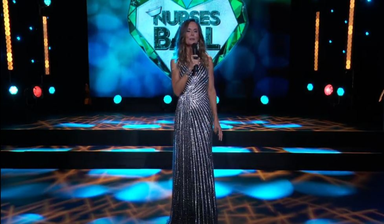 Lucy hosts the Nurses Ball General Hospital