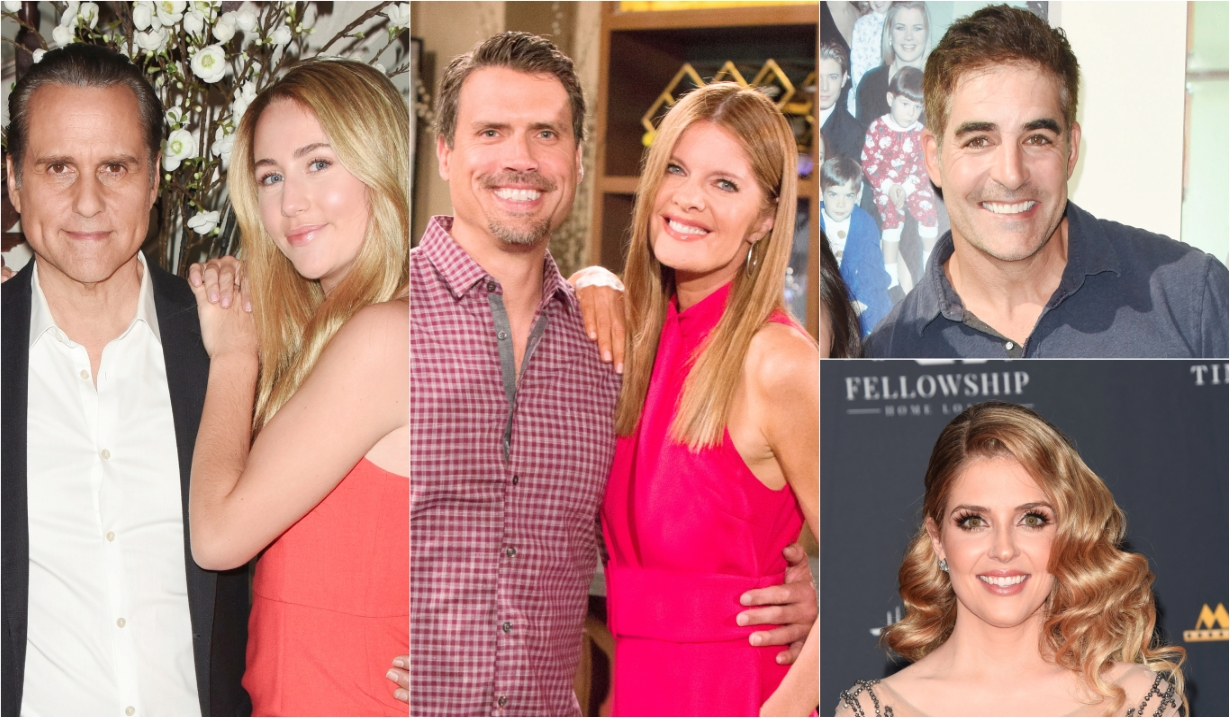 Maurice Benard Eden McCoy Michelle Stafford Joshua Morrow Galen Gering Jen Lilley Days of our Lives General Hospital Bold and the Beautiful Young and the Restless